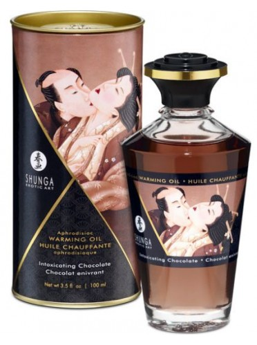 Aceite Comestible Besos Intimos - Chocolate