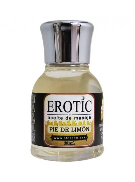 Gel Comestible EROTIC Pie de Limón 30 ml