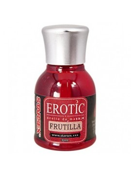 Gel Comestible EROTIC Frutilla 30 ml